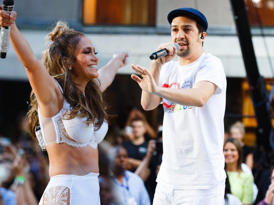 OP - Lin Manuel-Miranda - Jennifer Lopez - 7/16 - Emilio Madrid-Kuser