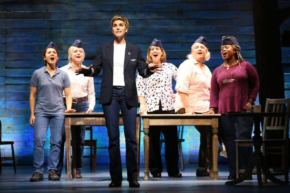 OUT OF TOWN - Come From Away - Jenn Colella - Ford's Theatre - Photo: Carol Rosegg