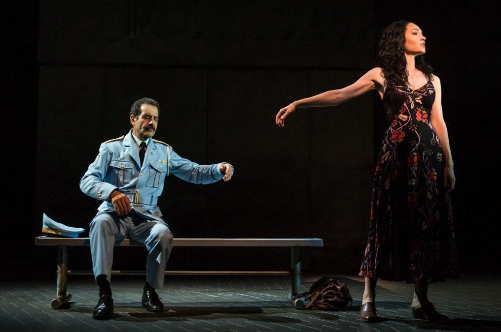 Show Photos - The Band's Visit - Katrina Lenk - Tony Shalhoub - Broadway - 10/17 - Matthew Murphy