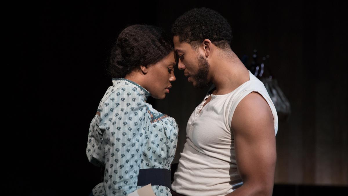 Intimate Apparel - Lincoln Center - Kearstin Piper Brown and Justin Austin - 02/20 - Julieta Cervantes